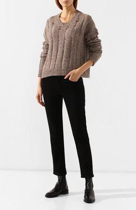 Женские кожаные челси PERTINI черного цвета, арт. 192W16405D1   Фото 2