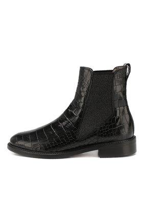 Женские кожаные челси PERTINI черного цвета, арт. 192W16405D1   Фото 3