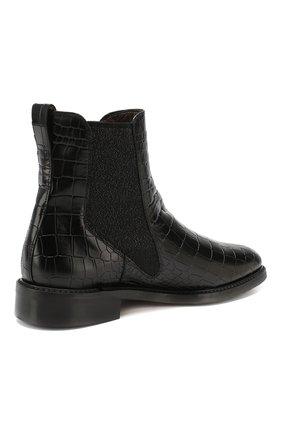 Женские кожаные челси PERTINI черного цвета, арт. 192W16405D1   Фото 4