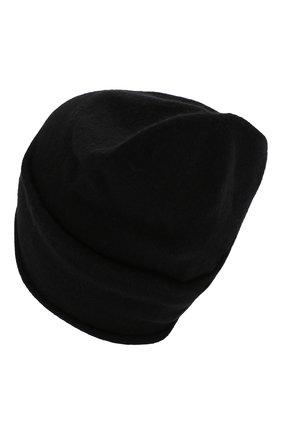 Женский кашемировая шапка GIORGIO ARMANI черного цвета, арт. 797362/9A520 | Фото 2