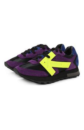 Комбинированные кроссовки Runner | Фото №1