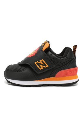 Детские кроссовки 574 NEW BALANCE черного цвета, арт. IV574ZOL/M | Фото 2
