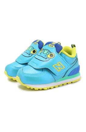 Детские кроссовки 574 NEW BALANCE синего цвета, арт. IV574ZOF/M | Фото 1