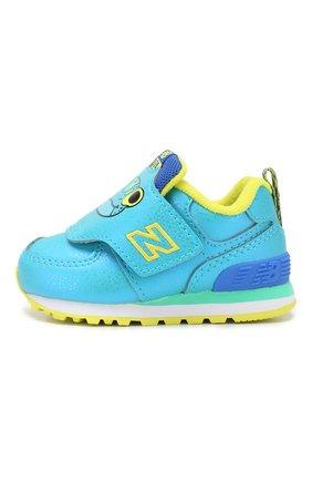 Детские кроссовки 574 NEW BALANCE синего цвета, арт. IV574ZOF/M | Фото 2