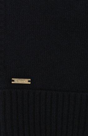 Детского шапка-балаклава из шерсти и кашемира IL TRENINO темно-синего цвета, арт. 18 7529/E2 | Фото 3