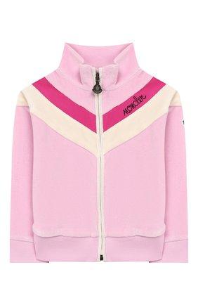 Детский комплект из кардигана и брюк MONCLER ENFANT розового цвета, арт. E2-951-88599-50-8999Y | Фото 2