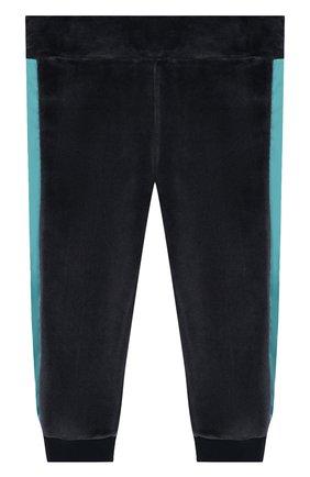 Детский комплект из кардигана и брюк MONCLER ENFANT синего цвета, арт. E2-951-88599-50-8999Y | Фото 4