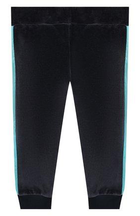 Детский комплект из кардигана и брюк MONCLER ENFANT синего цвета, арт. E2-951-88599-50-8999Y | Фото 5