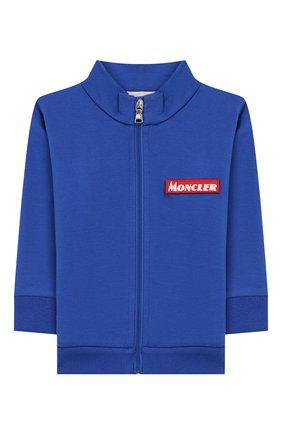 Детский комплект из кардигана и брюк MONCLER ENFANT синего цвета, арт. E2-951-88140-00-80996 | Фото 2
