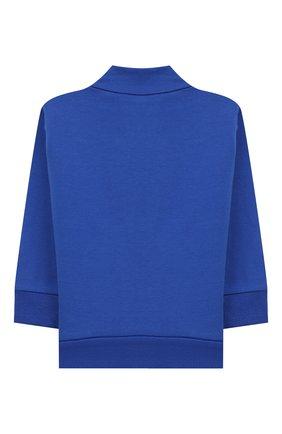 Детский комплект из кардигана и брюк MONCLER ENFANT синего цвета, арт. E2-951-88140-00-80996   Фото 3