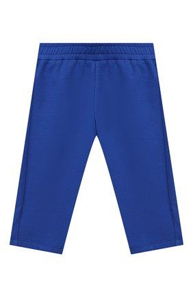 Детский комплект из кардигана и брюк MONCLER ENFANT синего цвета, арт. E2-951-88140-00-80996   Фото 4