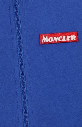 Детский комплект из кардигана и брюк MONCLER ENFANT синего цвета, арт. E2-951-88140-00-80996   Фото 6