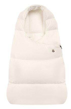 Детский конверт MONCLER ENFANT белого цвета, арт. E2-951-00828-05-53079 | Фото 1