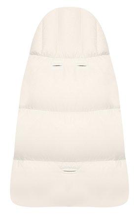 Детский конверт MONCLER ENFANT белого цвета, арт. E2-951-00828-05-53079 | Фото 2