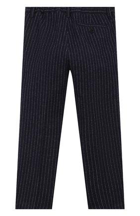 Детские хлопковые брюки IL GUFO темно-синего цвета, арт. A19PL206M1075/2А-4А | Фото 2