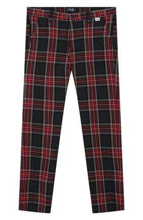 Детские хлопковые брюки IL GUFO разноцветного цвета, арт. A19PL133C3114/5А-8А | Фото 1