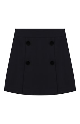 Детская юбка DAL LAGO темно-синего цвета, арт. R378/8111/13-16 | Фото 1