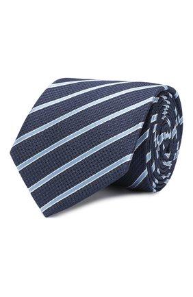 Детский шелковый галстук DAL LAGO темно-синего цвета, арт. N300/8733/II | Фото 1