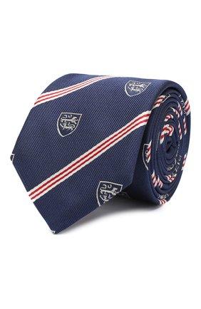 Детский шелковый галстук DAL LAGO темно-синего цвета, арт. N300/8548/II | Фото 1