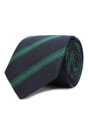 Детский шелковый галстук DAL LAGO голубого цвета, арт. N300/7744/III | Фото 1