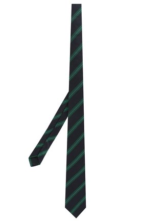 Детский шелковый галстук DAL LAGO голубого цвета, арт. N300/7744/III | Фото 2