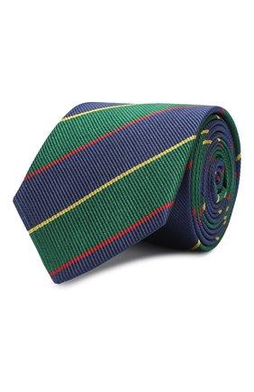 Детский шелковый галстук DAL LAGO темно-синего цвета, арт. N300/7744/III | Фото 1
