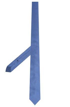 Детский шелковый галстук DAL LAGO голубого цвета, арт. N300/7328/III | Фото 2