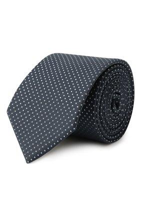 Детский шелковый галстук DAL LAGO синего цвета, арт. N300/7328/III | Фото 1