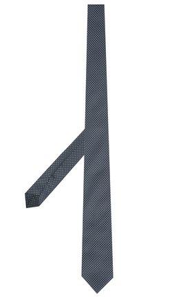 Детский шелковый галстук DAL LAGO синего цвета, арт. N300/7328/III | Фото 2