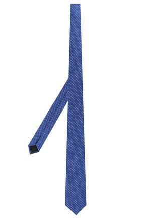 Детский шелковый галстук DAL LAGO голубого цвета, арт. N300/7328/II | Фото 2