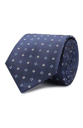 Детский шелковый галстук DAL LAGO синего цвета, арт. N300/7328/II | Фото 1
