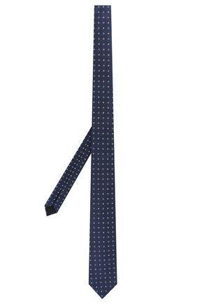 Детский шелковый галстук DAL LAGO синего цвета, арт. N300/7328/II | Фото 2