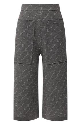 Женские шерстяные брюки STELLA MCCARTNEY серого цвета, арт. 574747/S2093 | Фото 1