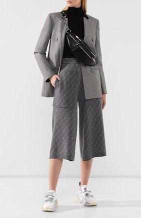 Женские шерстяные брюки STELLA MCCARTNEY серого цвета, арт. 574747/S2093 | Фото 2