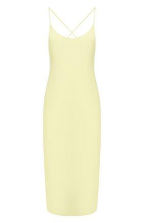 Женское платье ALEXANDERWANG.T желтого цвета, арт. 4WC2196005 | Фото 1