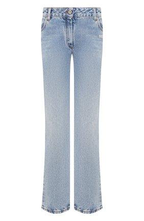 Женские джинсы OFF-WHITE голубого цвета, арт. 0WYA004E197730778700 | Фото 1