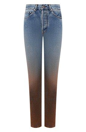 Женские джинсы OFF-WHITE синего цвета, арт. 0WYA001E1977308987B4 | Фото 1