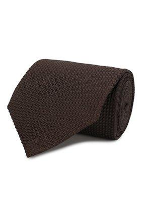 Мужской шелковый галстук TOM FORD коричневого цвета, арт. 6TF05/XTF   Фото 1