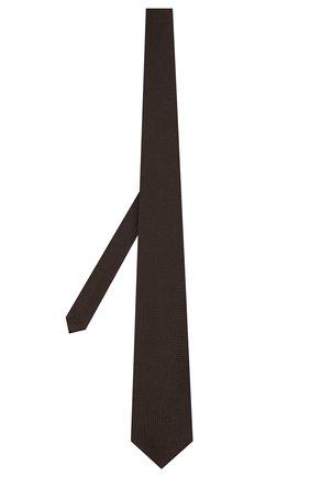 Мужской шелковый галстук TOM FORD коричневого цвета, арт. 6TF05/XTF   Фото 2