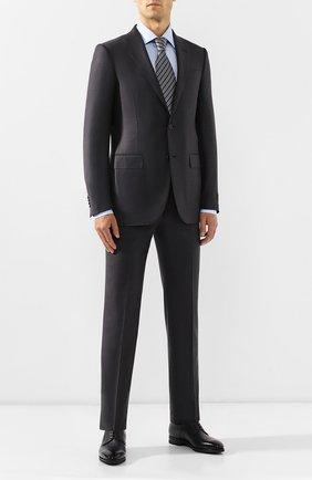 Мужской шерстяной костюм ERMENEGILDO ZEGNA серого цвета, арт. 622684/221225 | Фото 1