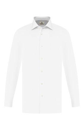 Мужская хлопковая сорочка LUIGI BORRELLI белого цвета, арт. EV08/LUCIAN0/TS10514 | Фото 1