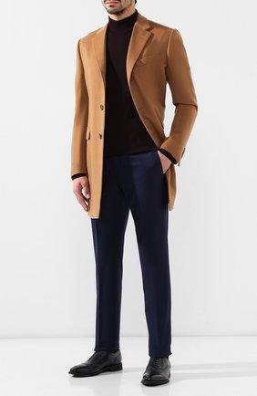 Мужские кожаные оксфорды BARRETT темно-синего цвета, арт. 152U002.3/NEW B0X | Фото 2