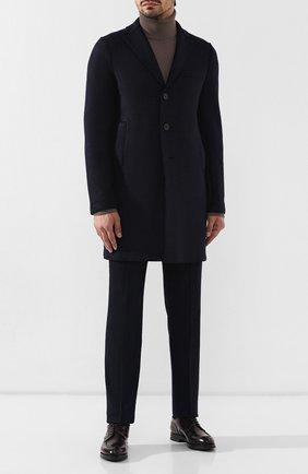 Мужские кожаные дерби W.GIBBS бордового цвета, арт. 0639010/0149 | Фото 2