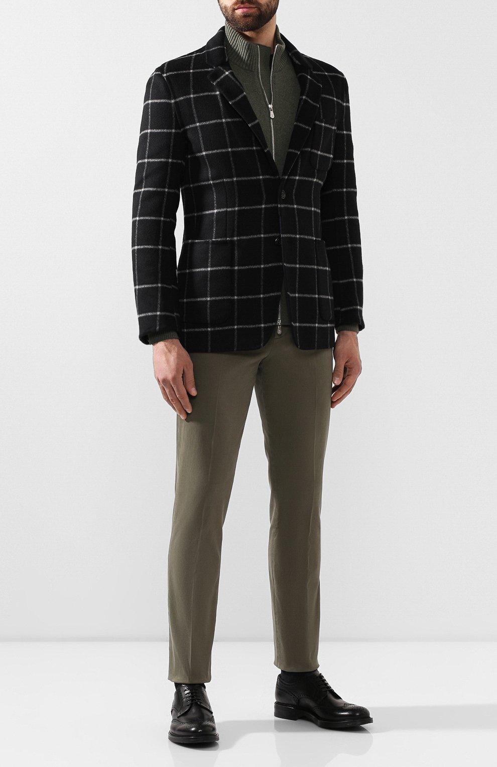 Мужские кожаные дерби W.GIBBS черного цвета, арт. 3169007/0214 | Фото 2