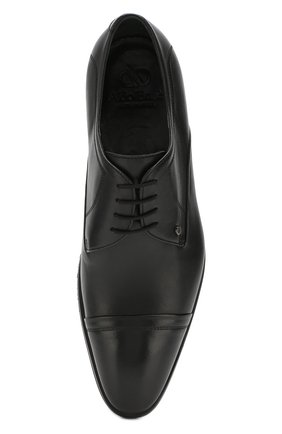 Мужские кожаные дерби ALDO BRUE черного цвета, арт. AB603FPH-NL   Фото 5