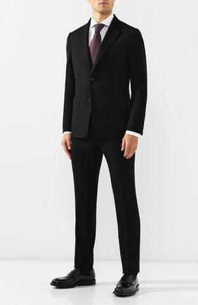 Мужские кожаные лоферы BALLY черного цвета, арт. NIKIM0/50 | Фото 2