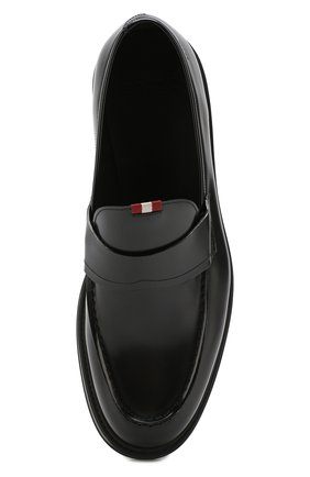 Мужские кожаные лоферы BALLY черного цвета, арт. NIKIM0/50 | Фото 5