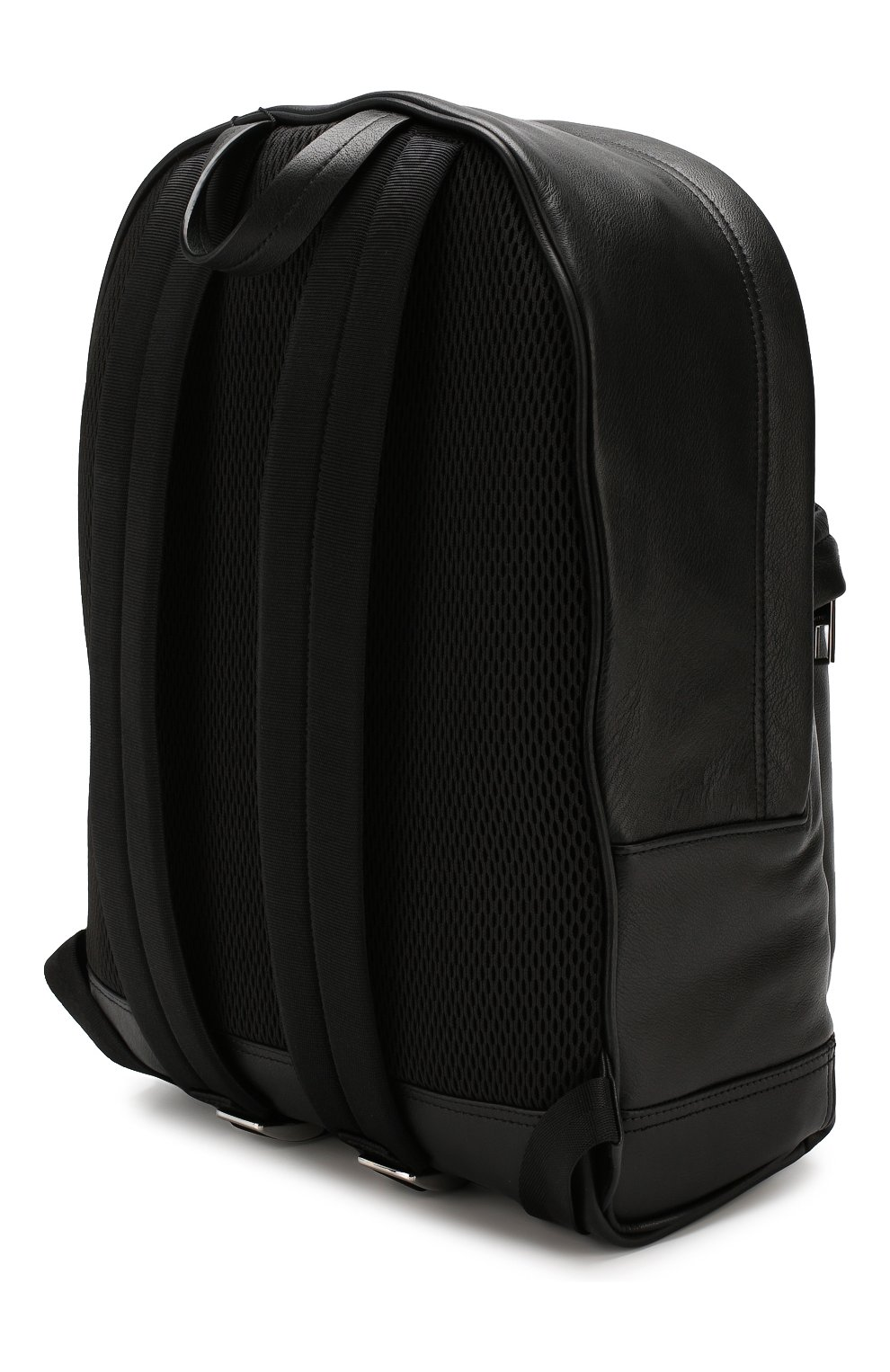 Мужской кожаный рюкзак KENZO черного цвета, арт. F865SF300L49   Фото 3
