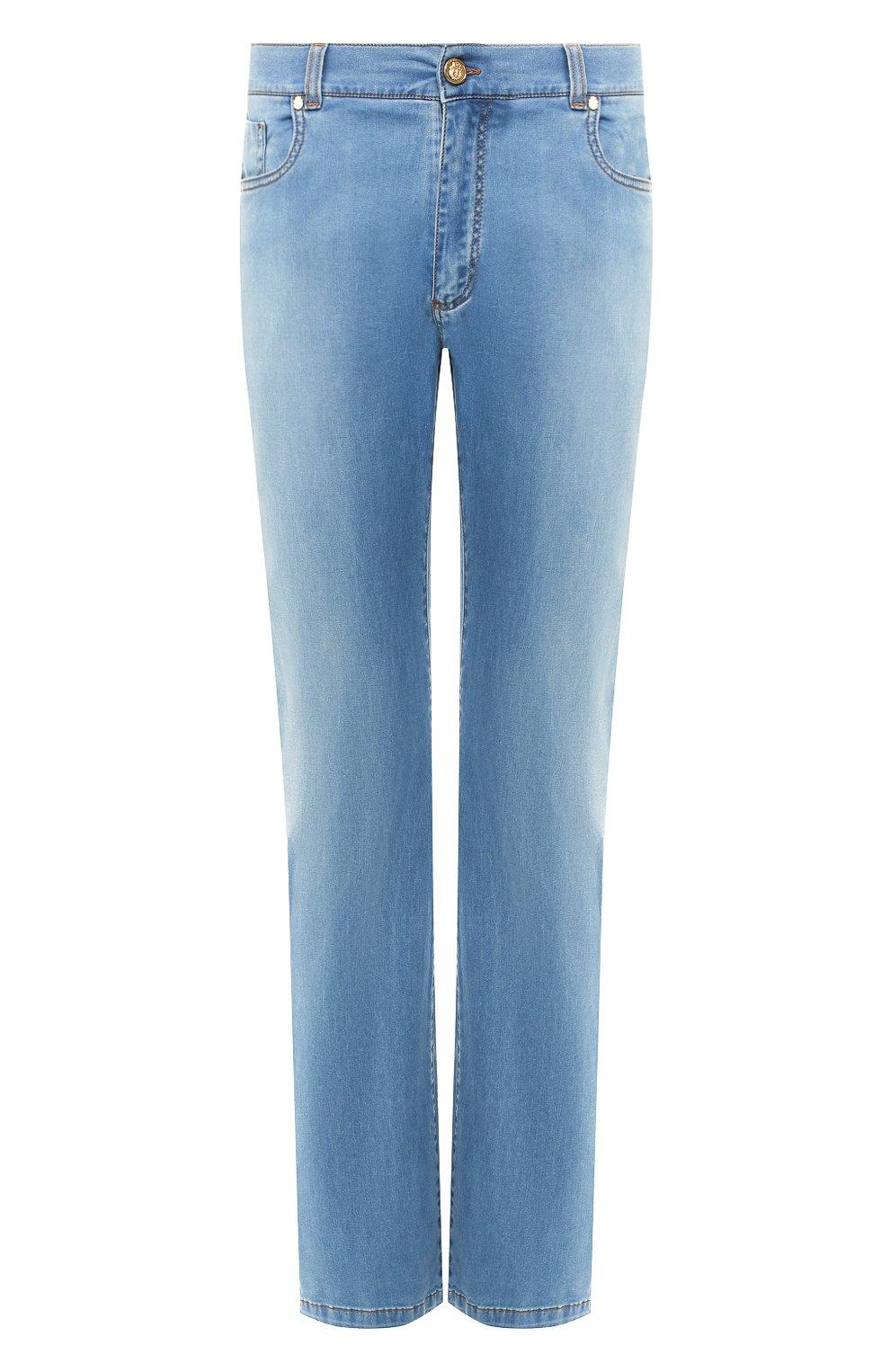 Мужские джинсы BILLIONAIRE голубого цвета, арт. I19C MDT1630 BTE001N   Фото 1