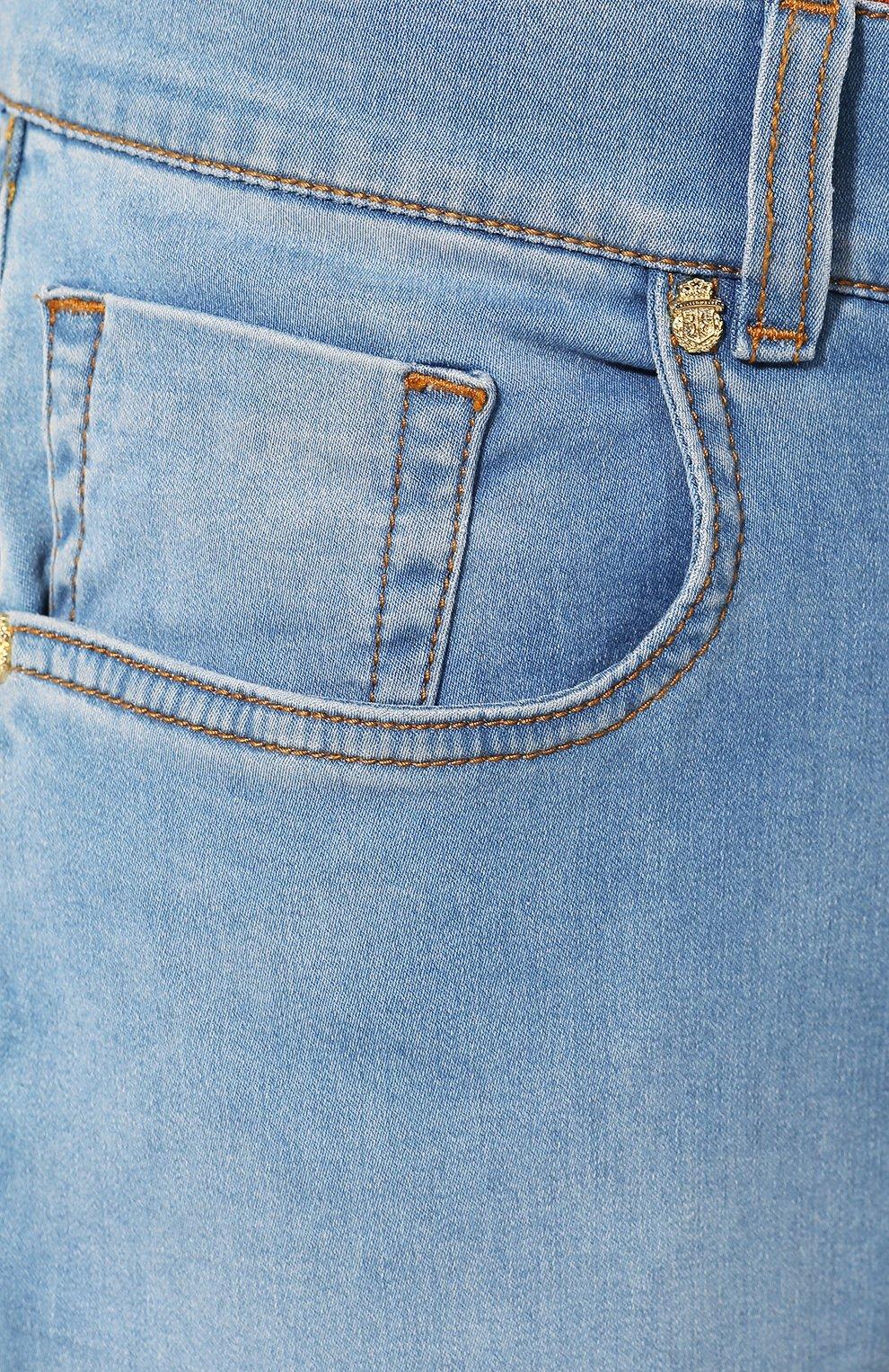 Мужские джинсы BILLIONAIRE голубого цвета, арт. I19C MDT1630 BTE001N   Фото 5